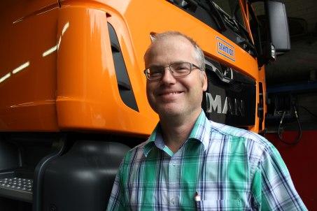 Clemens Schwörer, Entwicklungs- ingenieur Schneeräumung